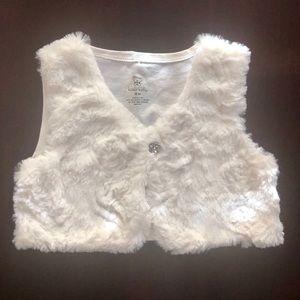 Faux Fur vest for little girl